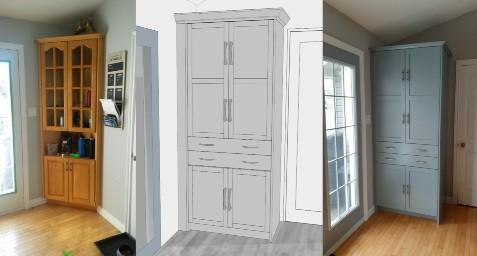 3D Design Comfort by Design Renovation Cabinets 1 2