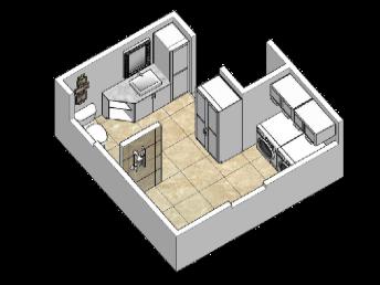 3D Graphic Design Bathroom 3