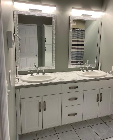 Cabinets Bathroom Comfort by Design Renovation 3